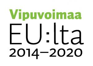 Kainuun Liikunta ry - Vipuvoimaa EU:lta 2014-2020 logo.